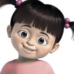 Adults: Dress up as Boo from Monsters Inc
