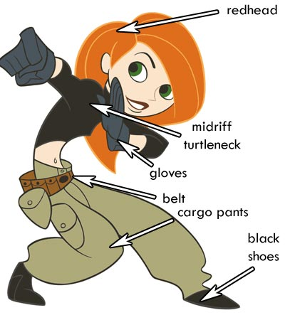Kim Possible Costume