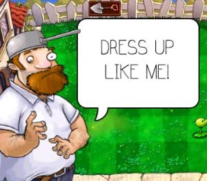 Plants vs. Zombies - Crazy Dave Costume