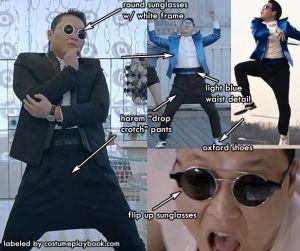 Psy Gentleman Costume