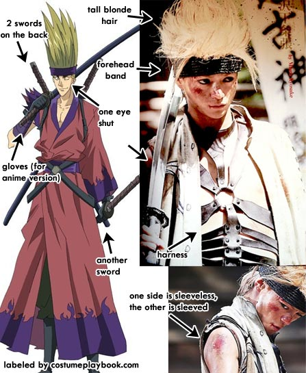 Cho Costume - Juppongatana - Rurouni Kenshin Movie