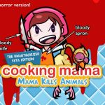cooking mama PETA bloody costume