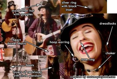 Dress up as the Lead Singer of 4 Non Blondes