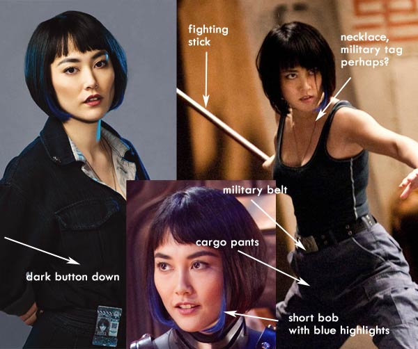 Dress up as Mako Mori  sc 1 st  Costume Playbook : up movie costume ideas  - Germanpascual.Com