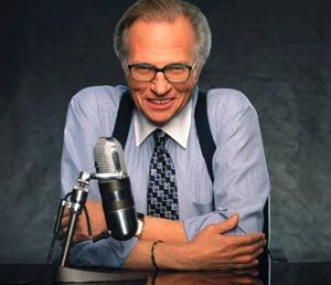 Larry King Outfit