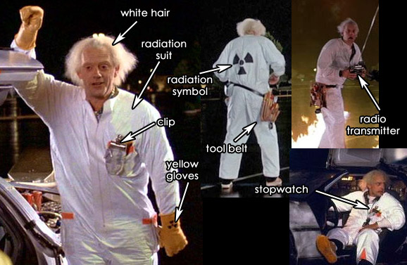 Doc Brown Costumes Back To The Future Costume Playbook