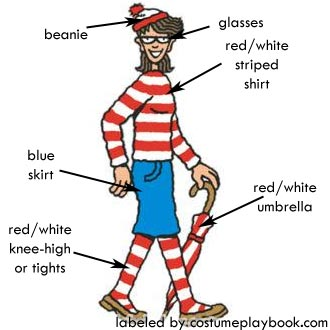 Wenda's outfit from Where's Wally