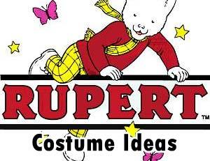 Rupert Bear Costume
