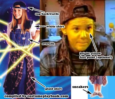 alex mack costume