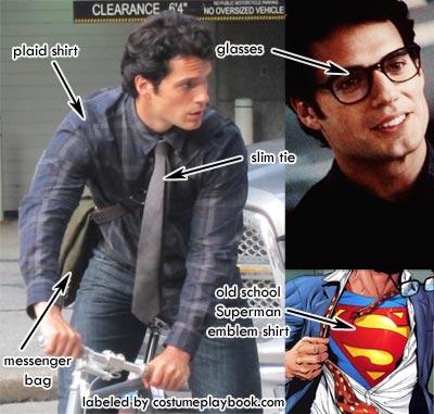 Clark Kent Henry Cavill Costume