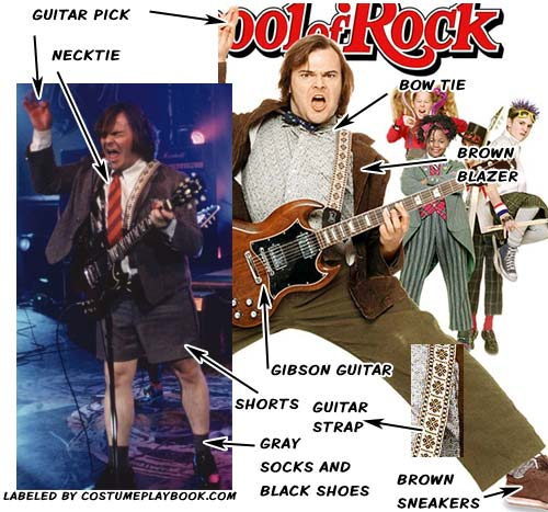 school of rock group costumes costume playbook cosplay