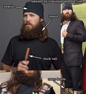 Dress up as Jase from Duck Dynasty