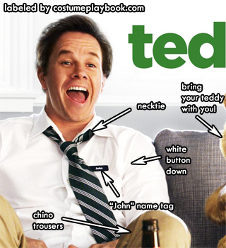 john wahlberg costume from ted movie
