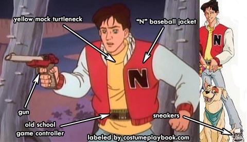 Kevin Keene Nintendo Master Costume