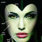 maleficent 2014 movie makeup