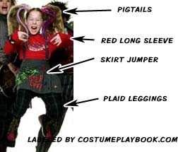 outfit of marta blondie from school of rock