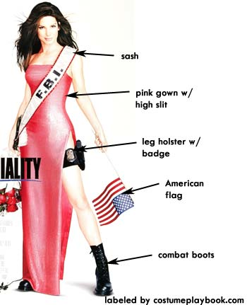Costume for Miss Congeniality Movie - Sandra Bullock