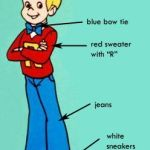 Costume of Richie Rich in the Cartoon TV Series