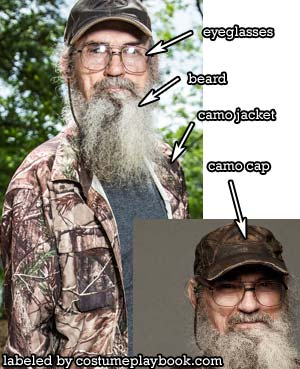 Si Duck Dynasty Outfit and Beard