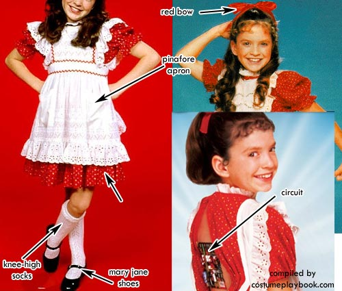 Vicki Small Wonder Costume