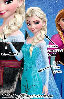 Elsa Snow Queen Frozen Costume