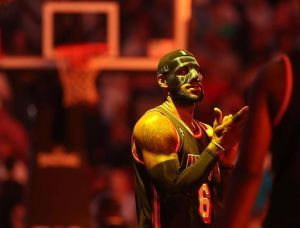 Lebron James and His Black mask