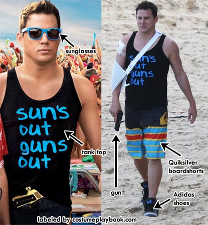 Channing Tatum costume for 22 jump street