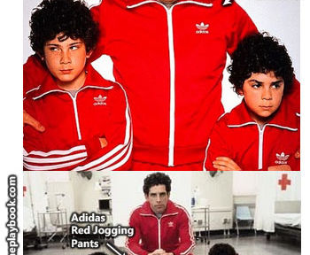 Dress up as Chas from Royal Tenenbaums