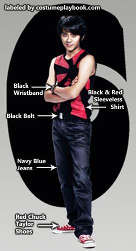 Kyle Katayanagi Outfit from Scott vs Pilgrim Movie