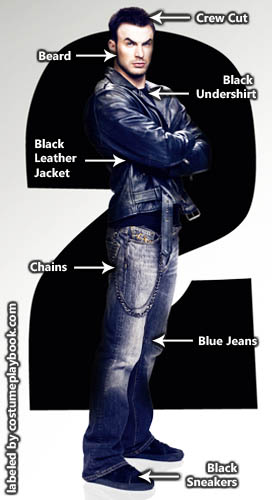 Lucas Lee Chris Evans costume (Scott Pilgrim Movie)