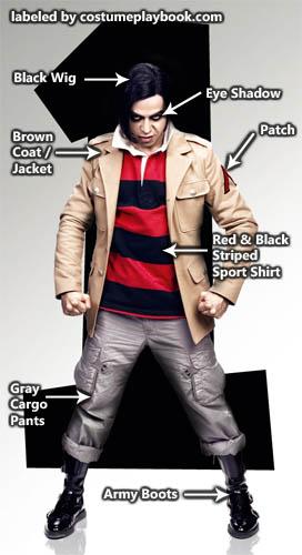 Costumes for Matthew Patel Evil Ex 1 against Scott Pilgrim