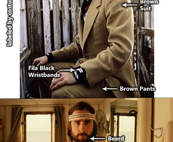 Richie Tenenbaum Costume Outfit