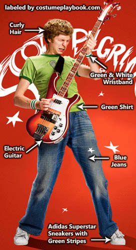 Scott Pilgrim Costume Ideas - Graphic Tees