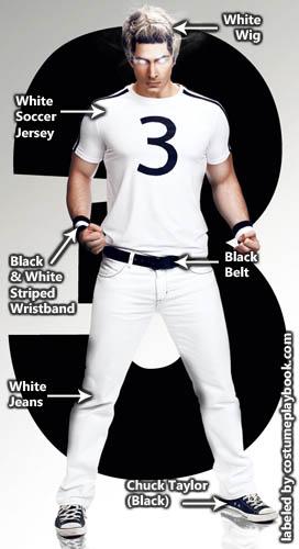 Todd Ingram White Costume from Scott Pilgrim vs the World