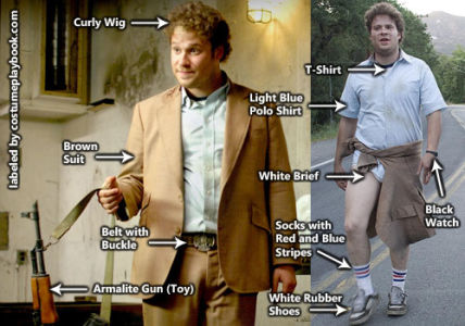 outfit of dale denton - seth rogen - pineapple express