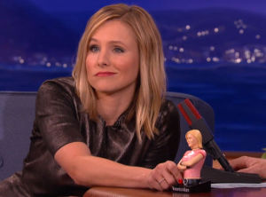 kristen bell and her veronica mars doll
