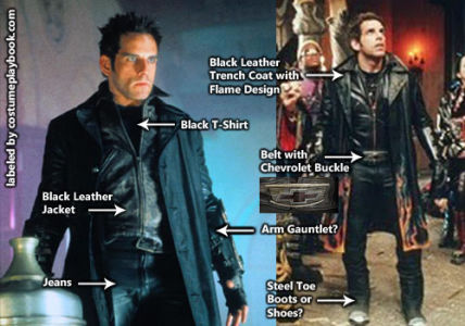 mystery men ben stiller costume