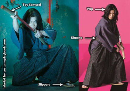 Goemon Ishikawa Costume - Lupin III