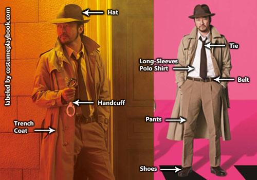 Inspector Koichi Zenigata - Costume Lupin III Movie