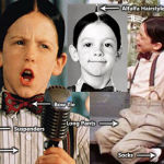 Alfalfa Little Rascals costume outfit