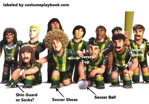 Foosball Team Costume - The Unbeatables Movie