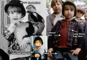 Uh-Huh Little Rascals Outfit Costume