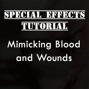 tutorial - fake blood wound