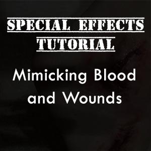 tutorial - fake blood wound
