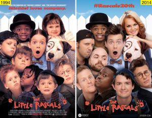 The Little Rascals as Adults - Reunion - Costumes