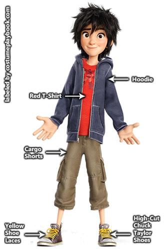 Hiro Hamada - Big Hero 6 Outfit