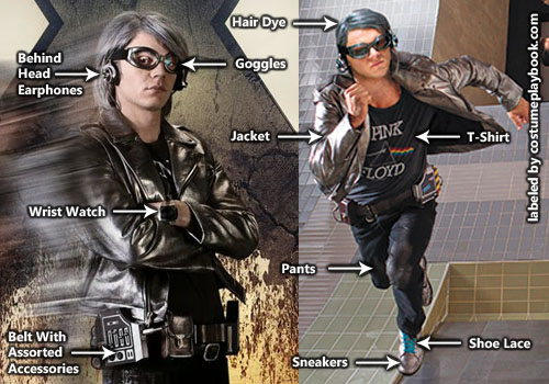Peter Maximoff aka Quicksilver Costume for X-men Days of Future Past    X Men Quicksilver