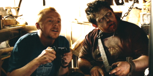 Shaun and Zombie Ed - Shaun of the Dead