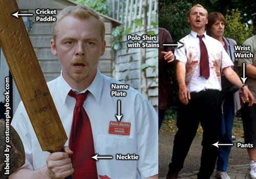 Costume of Shaun of the Dead