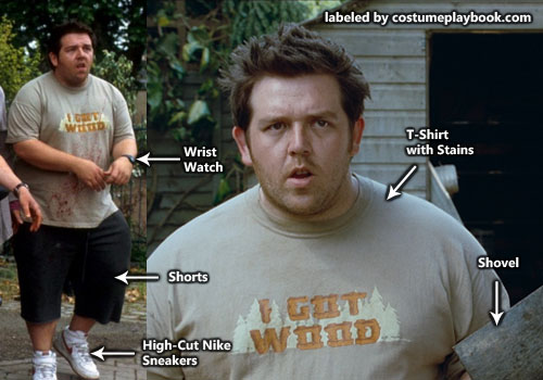Costume of Ed from Shaun of the Dead